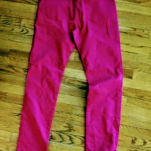 T&Y FASHION Pants - T&Y Fashion Hot Pink Pants NWT Size  15/16